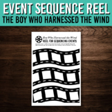 The Boy Who Harnessed the Wind - Event Sequencing Poster Activity
