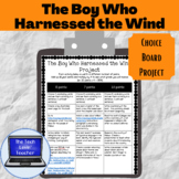 The Boy Who Harnessed the Wind Project (Choice Board)