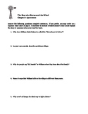 The Boy Who Harnessed the Wind (young readers edition) Chapter 1 Questions