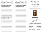 The Boy Who Invented TV Trifold - Wonders 5th Grade Unit 1 Week 4