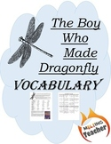 The Boy Who Made Dragonfly - Vocabulary Tic Tac Toe