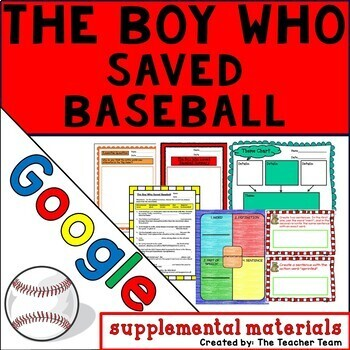 The Boy Who Saved Baseball Journeys 6th Grade Lesson 6 Google Digital Resource
