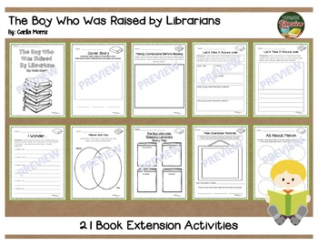 The Boy Who Was Raised by Librarians 21 Book Extension Activities