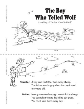 The Boy Who Yelled Wolf (Leveled Readers' Theater, Grade 1)