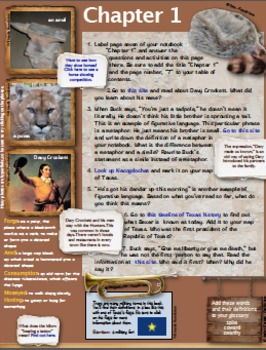 The Boy in the Alamo - Interactive Book Project