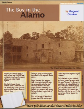The Boy in the Alamo Hyperdoc Project