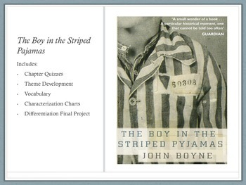 The Boy in the Striped Pajama Book Unit