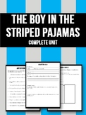 The Boy in the Striped Pajamas Complete Unit!