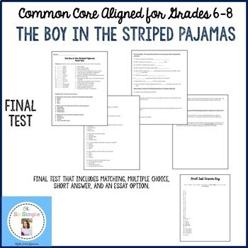 The Boy in the Striped Pajamas Final Test