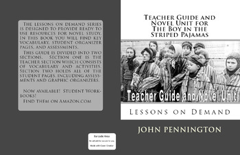 The Boy in the Striped Pajamas John Boyne Teacher's Guide and Novel Unit