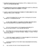 The Boy in the Striped Pajamas Movie Worksheet/Questions