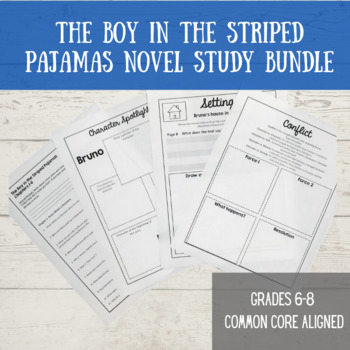 The Boy in the Striped Pajamas Novel Packet