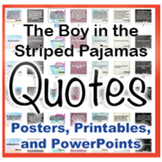 The Boy in the Striped Pajamas Novel Quotes Posters and Po