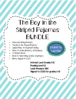The Boy in the Striped Pajamas Novel Unit BUNDLE