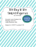 The Boy in the Striped Pajamas Novel Unit with Differentiated/Interactive Notes