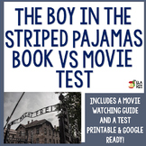 The Boy in the Striped Pajamas Novel Vs. Movie Test