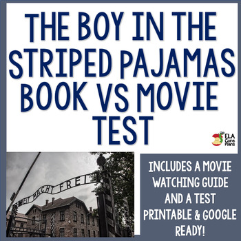 The Boy in the Striped Pajamas Novel Vs. Movie Test