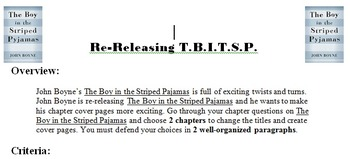 The Boy in the Striped Pajamas - Paragraph Writing