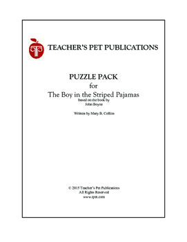The Boy in the Striped Pajamas Puzzle Pack - Activities, Puzzles, Games