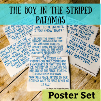 The Boy in the Striped Pajamas Quotes Posters