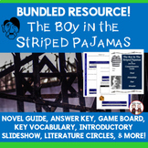 The Boy in the Striped Pajamas Reading Novel Study Activity Bundle