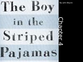 The Boy in the Striped Pajamas Reading and Writing Integration