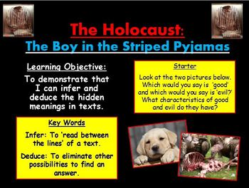 The Boy in the Striped Pajamas Resources Bundle!