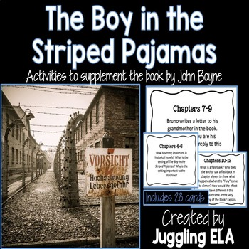 The Boy in the Striped Pajamas Task Cards