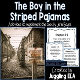 Task Cards for the Novel The Boy in the Striped Pajamas by John Boyne