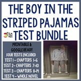 The Boy in the Striped Pajamas Assesment  Bundle ~ Four tests plus more!