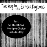 The Boy in the Striped Pajamas Test - Editable