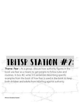 The Boy in the Striped Pajamas Theme/Motif/Symbolism Stattions
