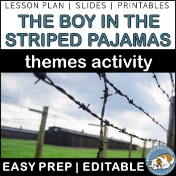 The Boy in the Striped Pajamas Themes Textual Analysis Activity