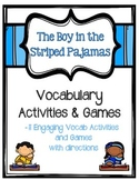 The Boy in the Striped Pajamas Vocabulary Activities and Games