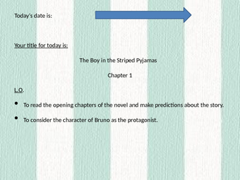 The Boy in the Striped Pyjamas - Full scheme of Work