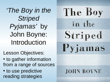 The Boy in the Striped Pyjamas Resources John  Boyne