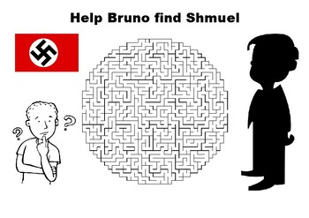 The Boy in the Striped Pyjamas maze puzzle