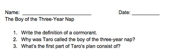 The Boy of the Three-Year Nap by Dianne Snyder