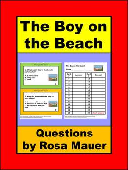 The Boy on the Beach Reading Comprehension