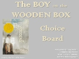 The Boy on the Wooden Box Choice Board Tic Tac Toe Novel A