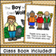 The Boy Who Cried Wolf Emergent Reader