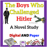 The Boys Who Challenged Hitler by Phillip Hoose  A Novel Study