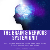The Brain, Biology, Neuroscience, and Nervous System Unit