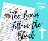 The Brain Fill-in-the-Blank Notetaking Guide