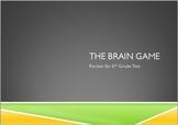 The Brain Game - Math Test Prep