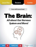 The Brain: Our Nervous System Lesson Plans & Activities Package, 4th Grade