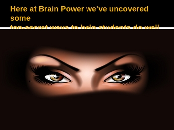 The Brain Power Learning Lab Test Preparation Tips
