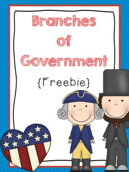The Branches of Government Craft {Freebie}