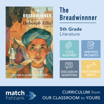 The Breadwinner | 5th Grade Literature | Unit | Lessons