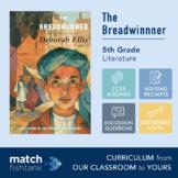 The Breadwinner | 5th Grade Literature | Unit | Lessons